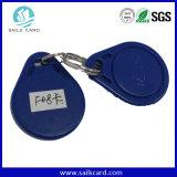 ABS 125kHz etiqueta da chave de RFID para controle de acesso