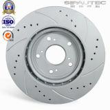 Disque de vente chaud de frein à disque de qualité de pièces d'auto pour le numéro 1610704680 de Peugeot
