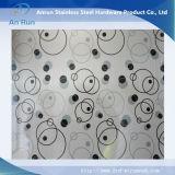 Plaque gravée en acier inoxydable de haute qualité pour la décoration