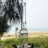 Drie Lagen Rokende Waterpijpen van het Glas van het Ontwerp van het Vagevuur (S-GB-273)