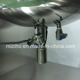 500L二重油圧ローションの真空の乳状になるミキサー機械