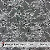 De textiel Stof van het Kant van de Jacquard Nylon voor Bruids Kleding (M0093)