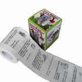 Venta al por mayor impresa modificada para requisitos particulares del papel higiénico