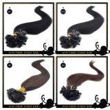 ケラチンの毛のペルーの人間の毛髪の拡張をUひっくり返しなさい