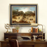 Commerce de gros de la décoration de haute qualité de l'huile, peinture décoration maison peinture, de peinture d'art (la corrida)