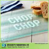 El mejor precio de 4 mm 5 mm de vidrio templado blanco tabla de cortar