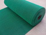Couvre-tapis en plastique de turbine de roulis d'étage de plancher de porte de forme de la maille Z S de vinyle de PVC