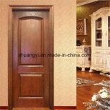 シンプルな設計の内部ドアのための純木のドア