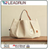 Gift Paper Nonwoven Shopping Bag Bolsa de compras de couro de lona de algodão (X037)