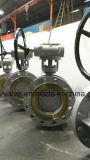 Pn40 Pn63 Válvula Borboleta de Alta Pressão