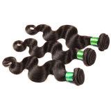 Weave malaio 50g do cabelo humano da onda do corpo 7A por a onda malaia não processada barata do corpo do cabelo do Virgin do cabelo malaio do pacote