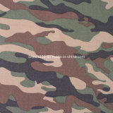 Cotone Twill Camouflage Fabric per Military Use (16X12/108X56)
