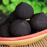 Pelées sain fermenté organique noir Prix de l'ail