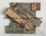 18*35cm Hot Sale de la Chine Rusty Ardoise naturelle Pierre revêtement mural