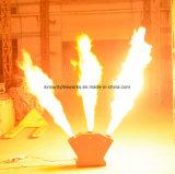 DJのディスコのナイトクラブの三倍ヘッドDMX段階のスプレーの火の炎プロジェクター機械