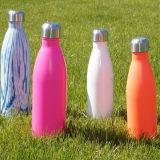 Корпус из нержавеющей стали спорта бачок автоклавы вакуума 17oz бутылка воды