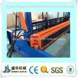Полноавтоматическое оборудование машины сетки волнистой проволки ISO9001