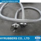 Boyau de métal flexible d'acier inoxydable avec la tresse de fil utilisée pour la connexion de pompe