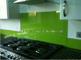 8mm Green Tinted Knell for Kitchen Splashback