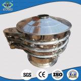 Pantalla redonda de la vibración de la sal del acero inoxidable