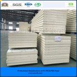 ISO, SGS 250мм из нержавеющей стали PIR Сэндвич панели для мяса/ овощей/фруктов