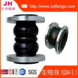 EPDM sola esfera de goma flexible conjunta en la instalación de tuberías