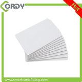 125kHz ou carte d'identification de PVC de blanc d'impression personnalisée par 13.56MHz