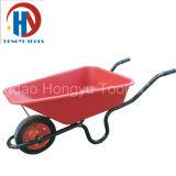 Carrinho de mão de roda plástico da bandeja de Wb3800p