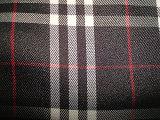 Tela teñida de la verificación de los hilados de polyester