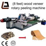 8 футов Spindle меньше Lathe шелушения деревянного Veneer журнала роторный