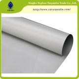 Comercio al por mayor Ripstop impermeable de PVC de doble cara transparente tejido revestido de lona