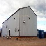Здание стальной структуры низкой стоимости модульное как мастерская и пакгауз