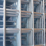 Cable de 8mm 200x200mm apertura Bird Cage barata soldado Panel de malla de alambre galvanizado