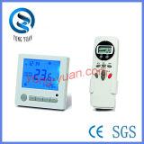 Termostato de quarto LCD para ar condicionado (BS-218 + controle remoto)