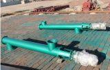 Convoyeur en tuyau/spiralé d'acier du carbone de vis pour des matériaux de charbon/cendre/scories