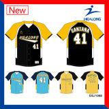 Трикотажных изделий бейсбола сублимации Healong высокого качества одежда изготовленный на заказ дешевых равномерная