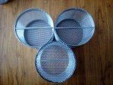 Panier de filtre à mailles métalliques en acier inoxydable