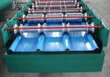 Ral 색깔 0.125-0.5mm Dx51d에 의하여 주름을 잡는 직류 전기를 통한 강철 루핑 장