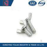 DIN316 아연에 의하여 도금된 강철은 날개 나사 견과 놀이쇠를 분해한다