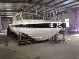 Barco de policía de la venta los 40FT de la fábrica hecho de la fibra de vidrio