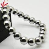 Braccialetto magnetico di fascino d'argento dell'ematite di Htb007A per i regali di promozione