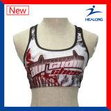 Healongの上の販売の体操摩耗によってカスタマイズされるデザイン女性のヨガジャージー