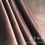 Tissus de composé de velours de sofa de capitonnage de cheveu court