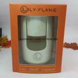 白い陶磁器の蝋燭の精油のウォーマー(CB-09)