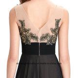 Женщин Lace Applique Сарафан элегантный вечер платье Ппзу Openboot