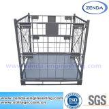 금속 Foldable 감금소 깔판/낮은 받침대 콘테이너를 겹쳐 쌓이기