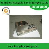 Peças da fabricação de metal da folha com dobra da estaca do laser