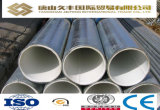 Existencias grandes, tubo de acero de plástico de la guarnición