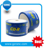 CD Negro! ! Blanco Negro CDR 52X CD de 700 MB de 80 min
