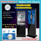 DigitalSignage LCD-Anzeigetafeln LCD-Bildschirm-Anzeigen-SpielerAndroid, der LCD-Bildschirmanzeige berührt